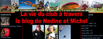 Link to Michel and Nadine′s blog, Dyvesair pub pilots and flight instructors